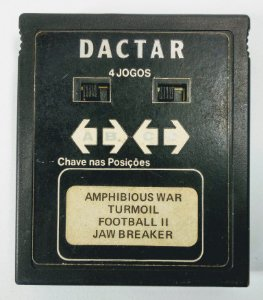 4 in 1 (Amphibious - Turmoil - Football 2 - Jaw) - Atari