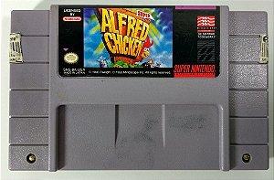 Jogo Super Alfred Chicken Original - SNES