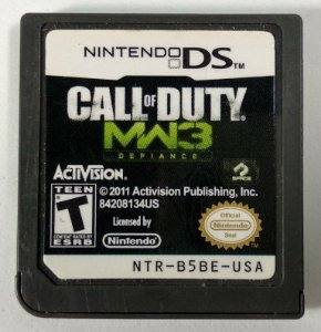 Call of Duty MW3 Defiance Original - DS