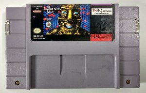 The Lawnmower Man Original - SNES