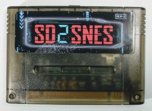 1200 in 1 SD2SNES (Flashcard CH version) - SNES