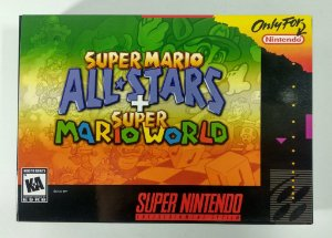 Super Mario All Stars + Super Mario World - SNES