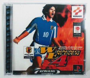 Winning Eleven 4 [REPLICA] - PS1 ONE