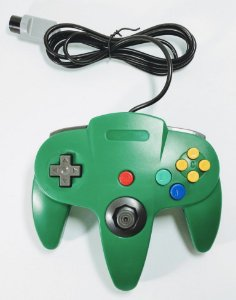 Controle Verde - N64