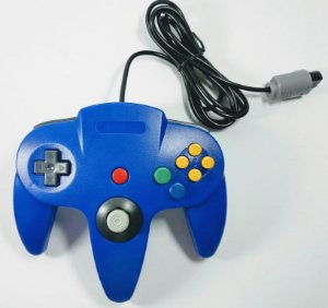 Controle Azul - N64