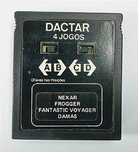 4 in 1 (Nexar - Frogger - Fant Voy - Damas) - Atari