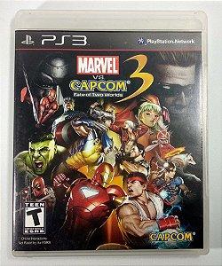 Jogo Marvel vs Capcom 3 Fate of Two Worlds - PS3