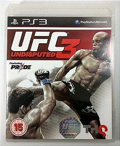UFC 3 Undisputed - PS3
