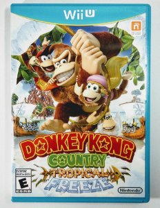 Jogo Donkey Kong Country Tropical Freeze Original - Wii U