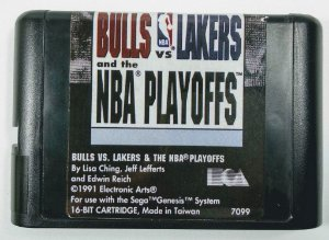 Bulls vs Lakers and the NBA Playoffs - Mega Drive
