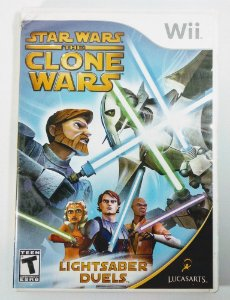 Star Wars the Clone Wars - Wii