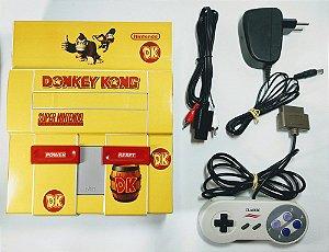 Super Nintendo Personalizado Donkey Kong - SNES