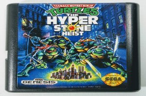 Turtles the hyperstone Heist - Mega Drive