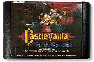 Jogo Castlevania the new Generation - Mega Drive