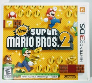 New Super Marios Bros. 2 - 3DS