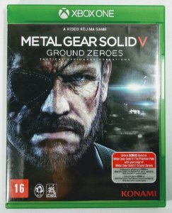 Jogo Metal Gear Solid V: Ground Zeroes - Xbox One