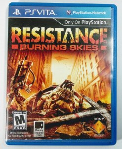 Jogo Resistance: Burning Skies - PS Vita