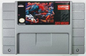 Jogo Street Fighter 2 - SNES