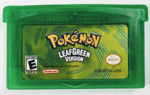 Jogo Pokemon Leafgreen Version - GBA