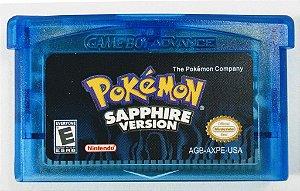 Jogo Pokemon Sapphire Version - GBA
