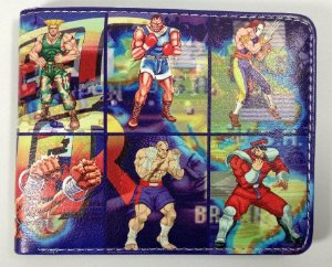 Carteira Personalizada Street Fighter II