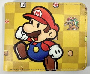 Carteira Personalizada Super Mario World