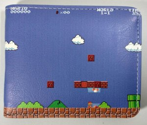 Carteira Personalizada Super Mario Bros
