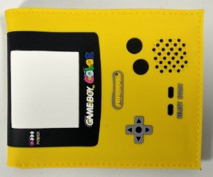 Carteira Personalizada Game Boy Color
