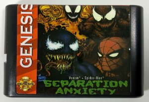 Jogo Spider-man Separation Anxiety - Mega Drive
