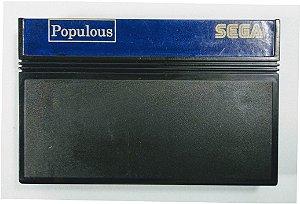 Jogo Populous - Master System