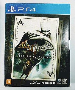 Jogo Batman Return To Arkham + Filme - PS4