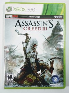 Jogo Assassins Creed III - Xbox 360