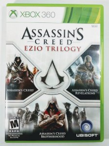 Jogo Assassins Creed Ezio Trilogy - Xbox 360