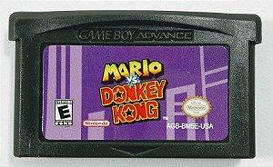 Jogo Mario vs. Donkey Kong - GBA