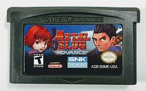 Jogo Metal Slug Advance - GBA