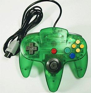 Controle translúcido Verde - N64