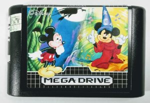 2 in 1 (Fantasia e Mickey Mouse Castle of Illusion) - Mega Drive