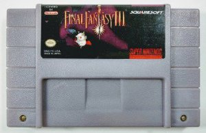 Jogo Final Fantasy III - SNES