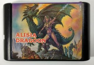 Jogo Alisia Dragoon - Mega Drive