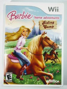 Jogo Barbie Horse Adventures Riding Gamp - Wii