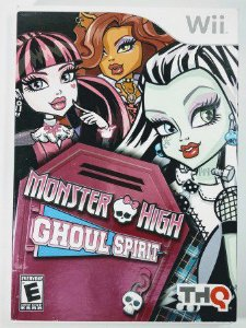 Jogo Monster High Ghoul Spirit - Wii
