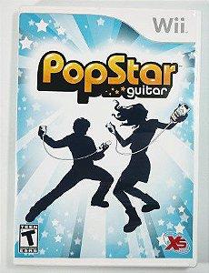 Jogo PopStar Guitar - Wii