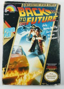 Jogo Back to the Future Original - NES