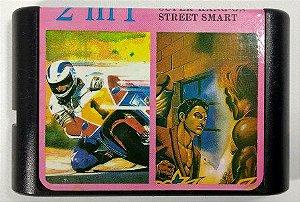 2 in 1 (Super Hang on - Street Smart) - Mega Drive