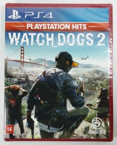 Jogo Watch Dogs 2 (lacrado) - PS4