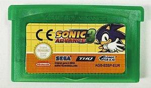 Jogo Sonic Advance 3 - GBA