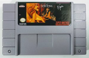 Jogo The Lion King - SNES
