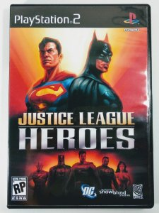Justice League Heroes [REPLICA] - PS2