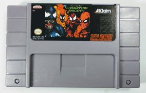 Venom Spider-man Separation Anxiety - SNES