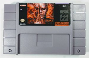 Jogo King of Demons - SNES